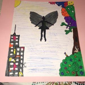 Angelic Ballerina (handmade by Evi Iem)